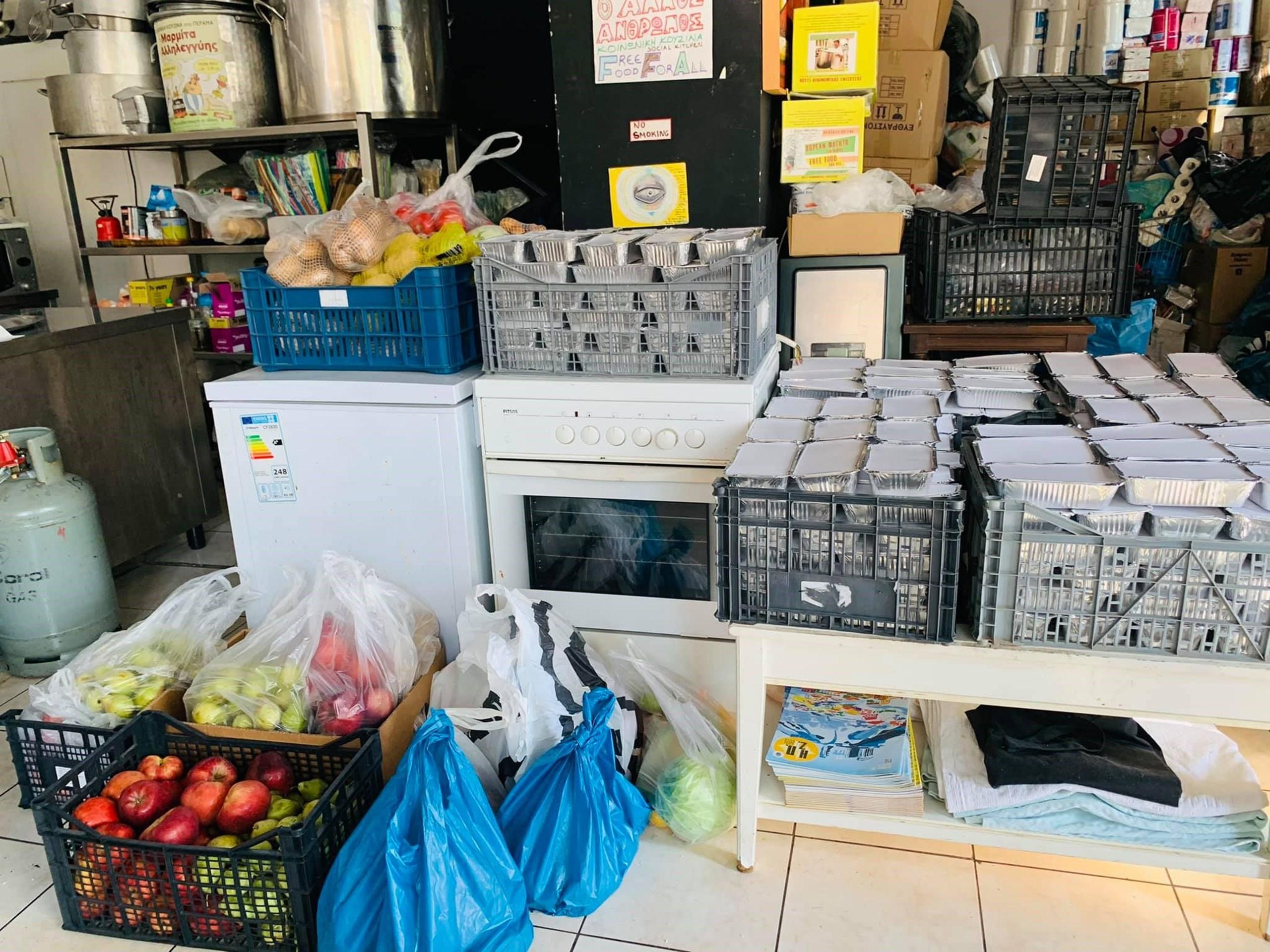 Τα ευπαθή προϊόντα στους Παιδικούς Σταθμούς του Δήμου μας, διανεμήθηκαν σε ανθρώπους που τα είχαν ανάγκη.